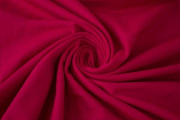 Baumwolljersey Uni dunkles pink Ökotex 100