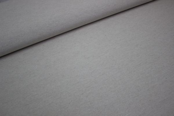 Canvas UNI NATUR MELANGE 100% Baumwolle Ökotex 100
