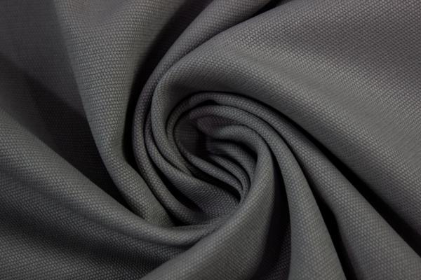 Canvas Uni dunkelgrau 100% Baumwolle Öko Tex 100