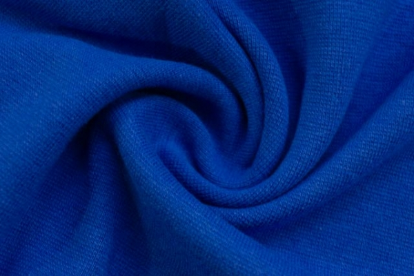 Bündchen Feinstrick UNI kobaltblau -hohe Sprungkraft- Ökotex 100