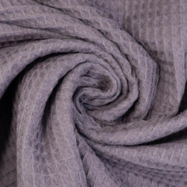 Waffelpiqué lila