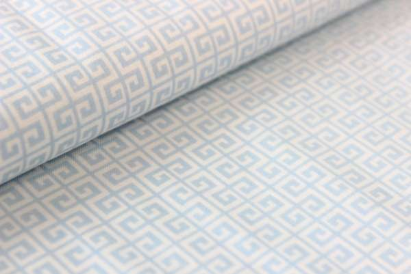 Gütermann Labyrinth Summer Loft blue Öko Tex 100