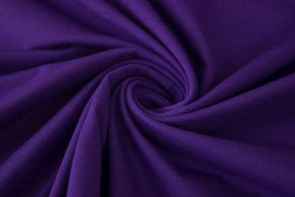 Bündchen Feinstrick Uni lila Ökotex 100
