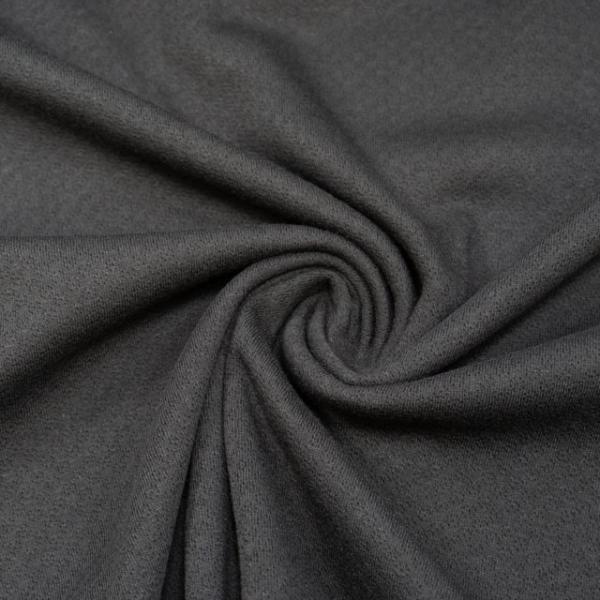 Baumwollstrick Fine Knit Dots schwarz