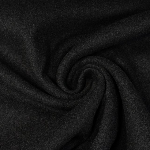 Mantelstoff Wool Touch anthrazit