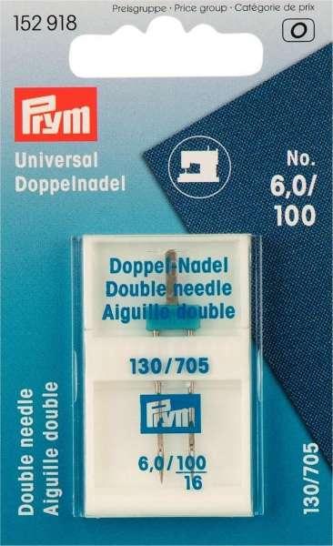 Schmetz Universal Doppelnadel ( 6mm) 6,0/100