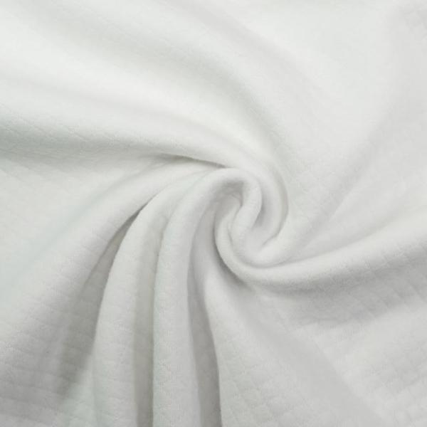Baumwolljersey Mini-Stepper weiß