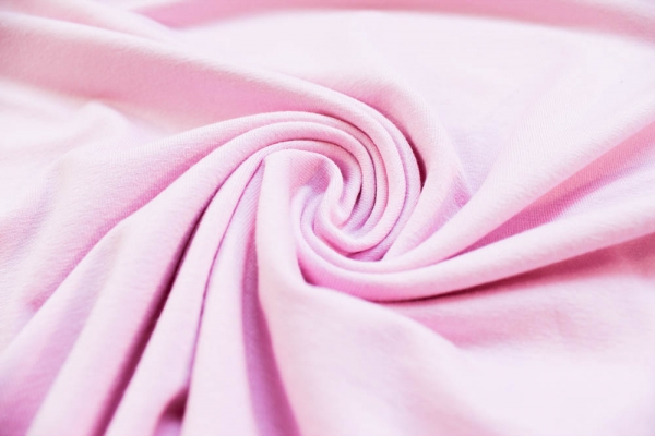 Viskosejersey Uni De Luxe rosa Ökotex 100