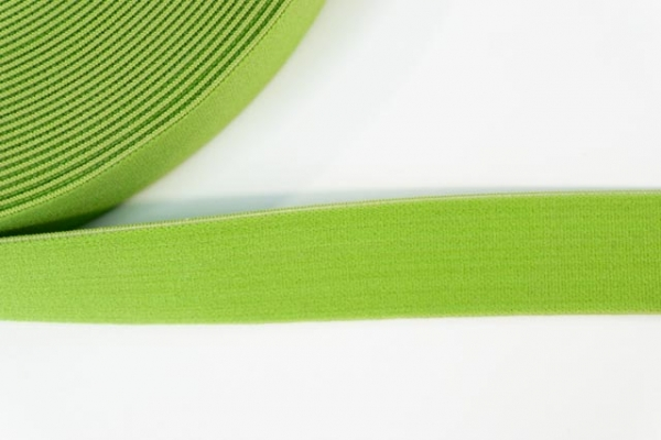 Gummiband SOFT grün 25mm