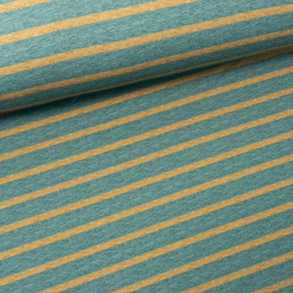 Sweat French Terry Stripes dusty mint