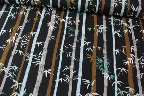 Viskose Bambus längsgestreift Ökotex 100