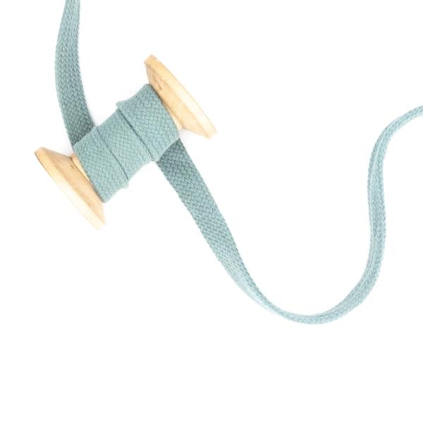 Flachkordel 20mm - Hoodie Kordel dusty mint