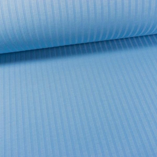 Streifen Jersey jeansblau hell