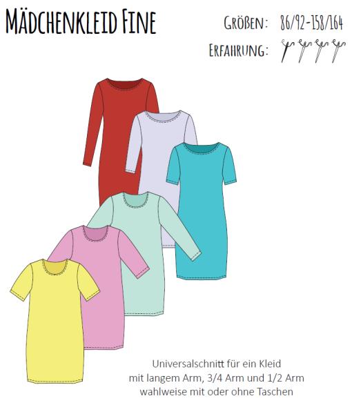 eBook MÄDCHENKLEID FINE Mädchen-Kleid