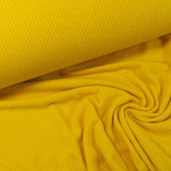 Ripp-Strick Jersey gelb