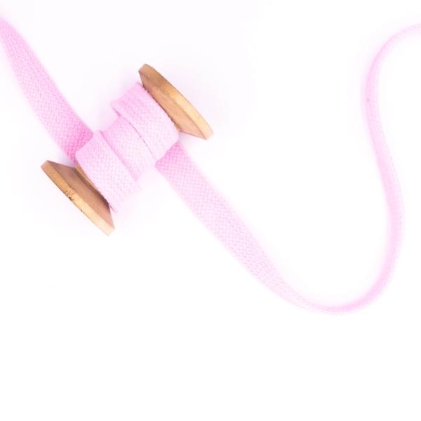 Flachkordel 20mm - Hoodie Kordel rosa