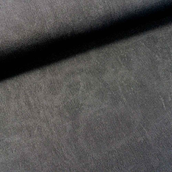 Jersey uni black marmoriert