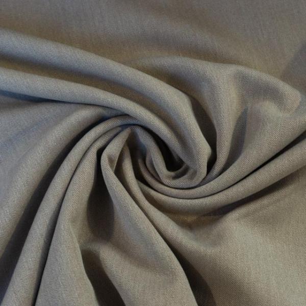 Twill Hosenstoff bi-elastisch Wool Touch beige Öko Tex 100
