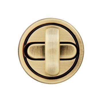 Drehverschluss Taschenverschluss 20mm Gold