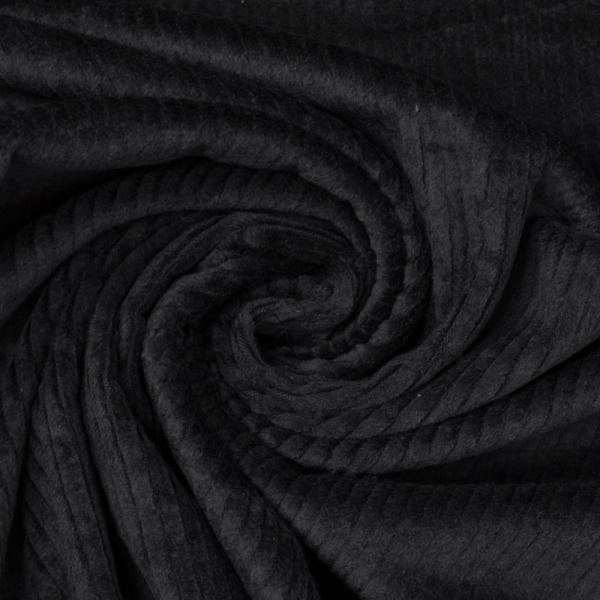 Breitcord Stretch schwarz SCHWER 345gr/m²