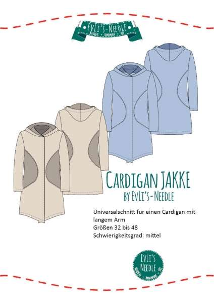 Ebook Damen Cardigan \