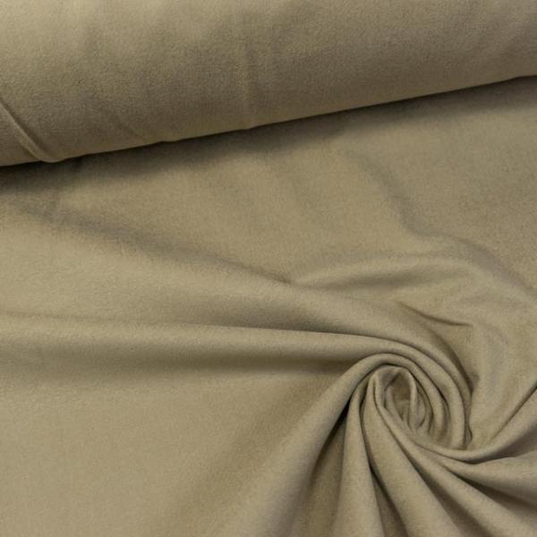 Baumwollsamt Stretch beige