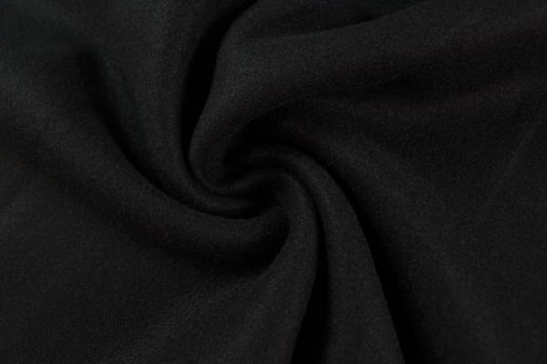 Mantelstoff Babette schwarz 380gr/m²