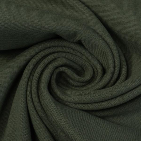 Bündchen Feinstrick oliv dunkel