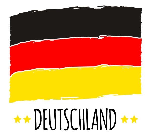 Plottdatei Deutschlandfahne