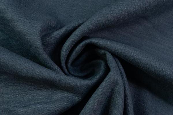 Leinen Stretch UNI jeansblau Ökotex 100