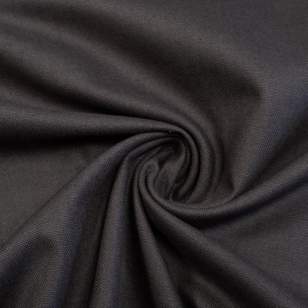 Canvas Premium Uni dunkelbraun 100% Baumwolle