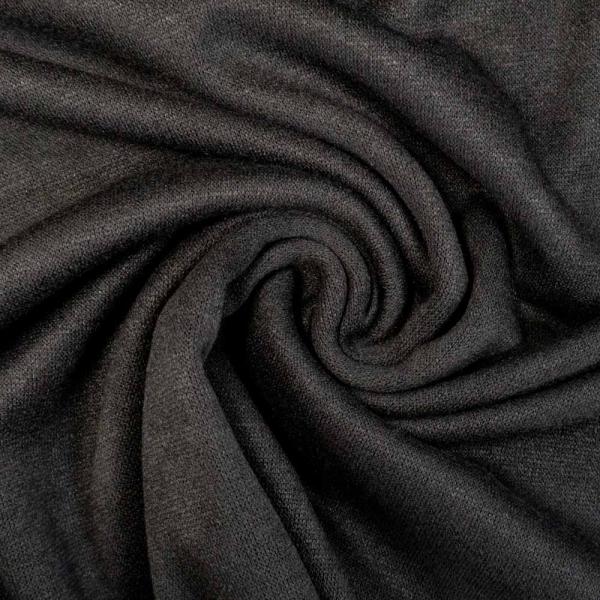 Strickjersey Cuddly Soft UNI schwarz