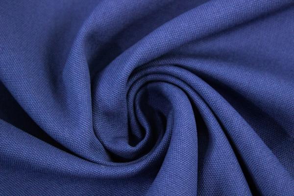 Canvas Uni königsblau 100% Baumwolle Öko Tex 100