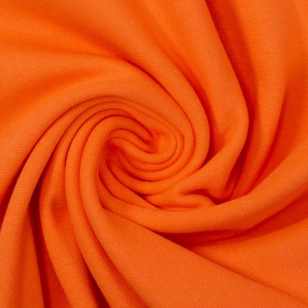 Bündchen Feinstrick orange
