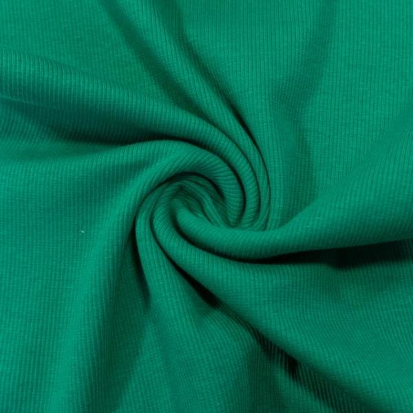 Bündchen Fein-Ripp Anna dunkelgrün