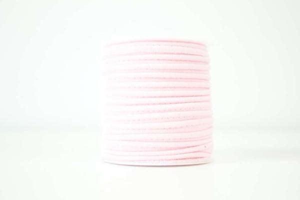 Jersey Paspelband hellrosa elastisch