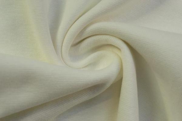Bündchen Feinstrick Uni vanille -hohe Sprungkraft- Ökotex 100