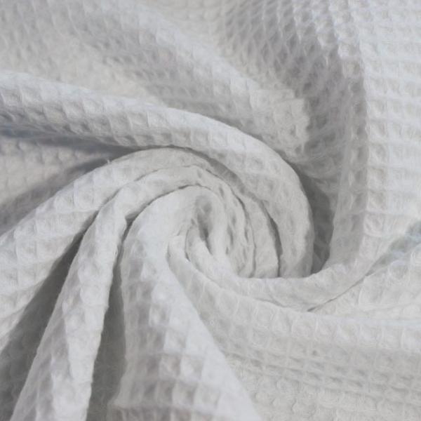 Waffelpiqué weiß