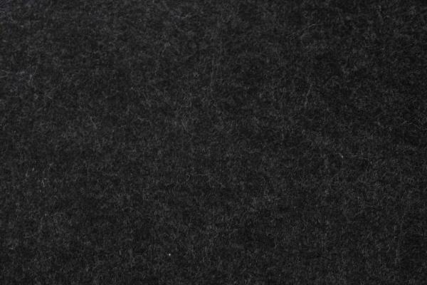 Filz MELIERT schwarz 3mm ÖkoTex 100