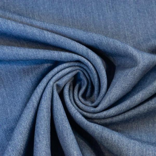 Twill Hosenstoff bi-elastisch Wool Touch jeanslook Öko Tex 100