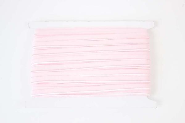 Elastisches Paspelband rosa