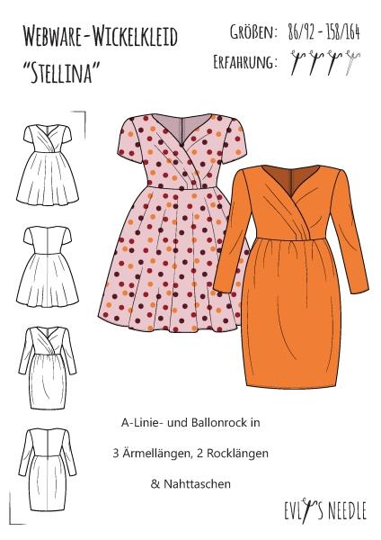eBook Mädchenkleid Stellina für Webware by EvLis-Needle