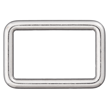 Rechteck-Ring silber 25mm