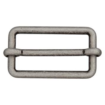 Metallschließe altsilber 30mm
