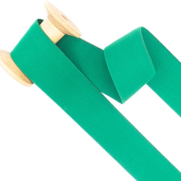 Gummiband SOFT grün 40mm