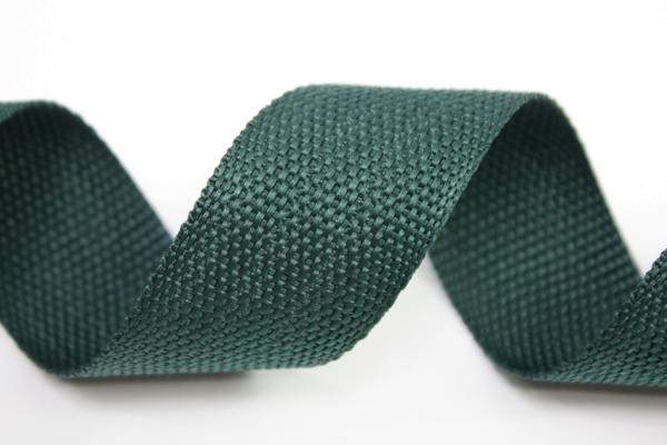 Gurtband 40mm tannengrün Polyester Ökotex 100