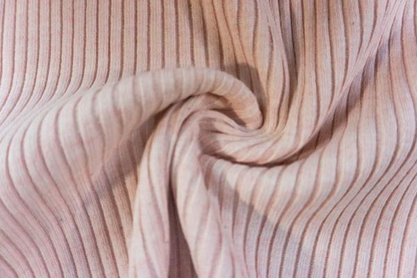Grobstrickbündchen HEAVY rose meliert Cozy-Style Ökotex 100