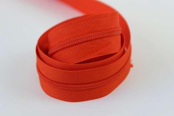 Endlosreißverschluss orange 12mm Ökotex 100