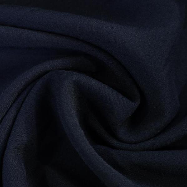 Twill Hosenstoff bi-elastisch Wool Touch dark navy Öko Tex 100