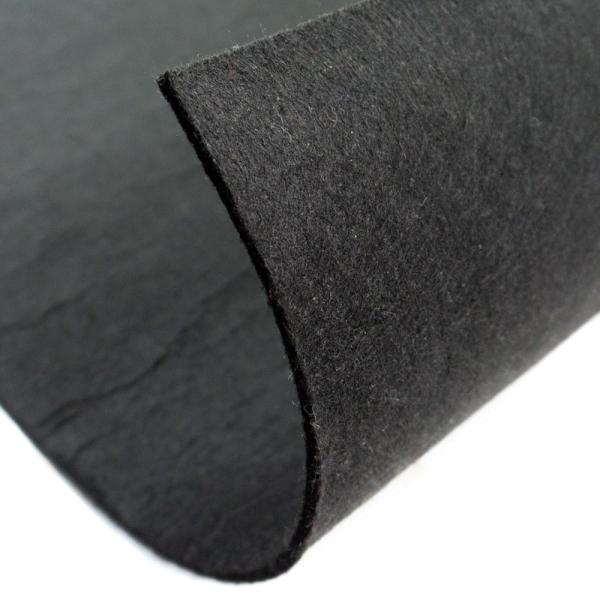 Filz 5mm Bastelfilz Uni schwarz